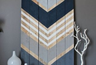 5PF - Chevron Painted Sign
