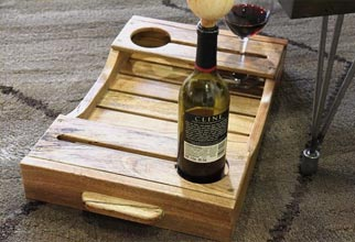 4PF - fancy cup holder tray