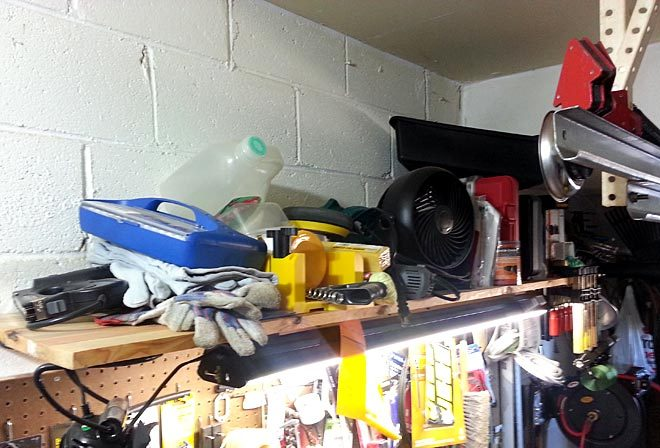 clean workshop overhead mess, a missed opportunity