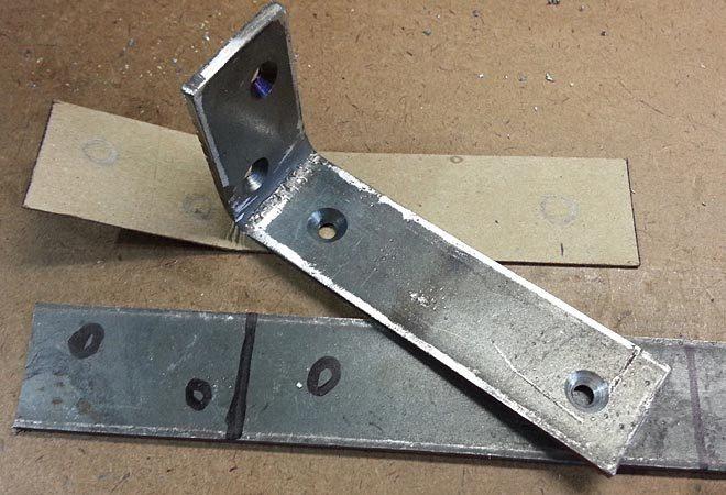 duplicate low profile shelf bracket