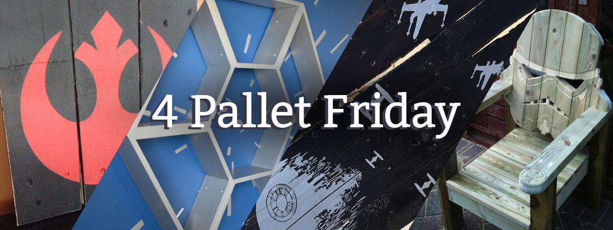 4PF - Star Wars Pallet Projects