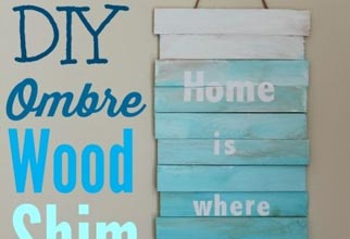 4PF - Ombre beach sign
