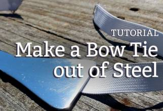 DIY Steel Bow Tie Tutorial