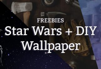 Free Star Wars and DIY wallpaper downloads