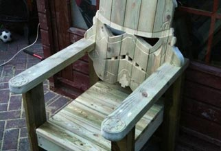 4PF - Stormtrooper deck chair
