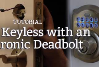 going keyless with an electronic deadbolt