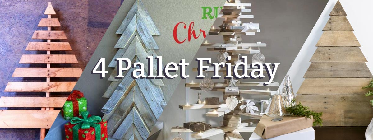 Christmast Tree Pallet Projects for 4 Pallet Friday - 4PF