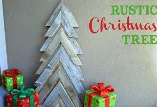 chevron christmas tree