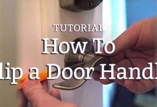 How To Flip a Door Handle
