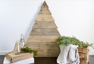 simple pallet christmas tree